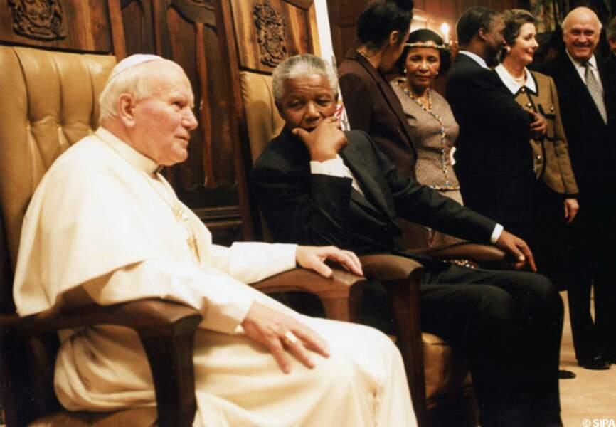 avec Jean-Paul II