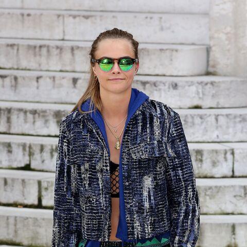 Cara Delevingne dans les pas de Kate Moss