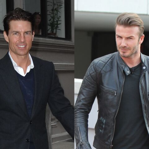 David Beckham et Tom Cruise, un lundi au pub