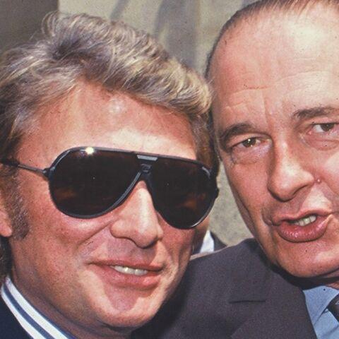 De Jacques Chirac à Emmanuel Macron … Johnny Hallyday l'ami des présidents