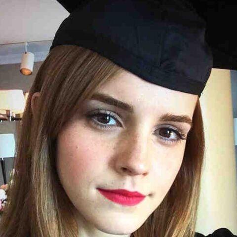 Emma Watson: diplôme en poche
