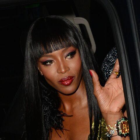 Naomi Campbell fête ses 45 ans à Cannes