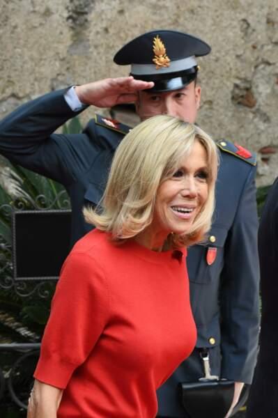 Brigitte Macron au G7