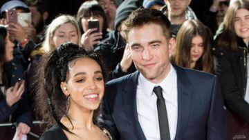 PHOTOS- Robert Pattinson et sa fiancée FKA Twigs in love sur le tapis rouge