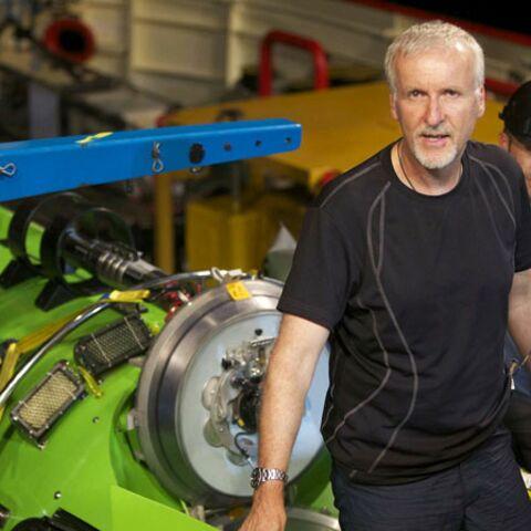 James Cameron au fond du trou