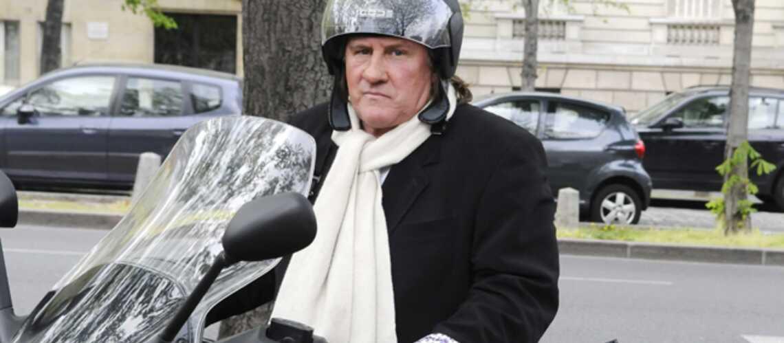 Gérard Depardieu a perdu son scooter