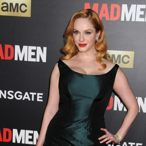 Coiffure de star – Christina Hendricks