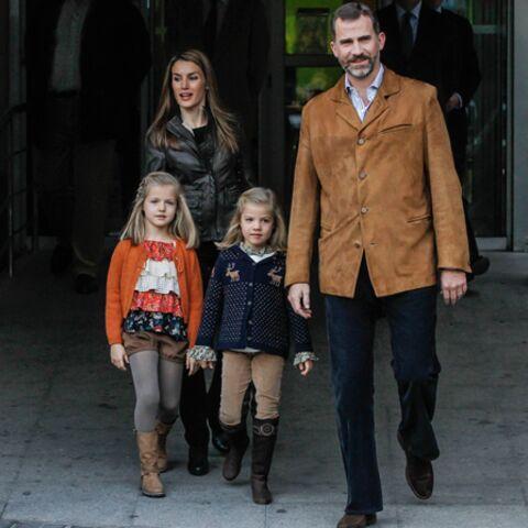 Photos- Letizia d'Espagne et le prince Felipe au chevet de Juan Carlos