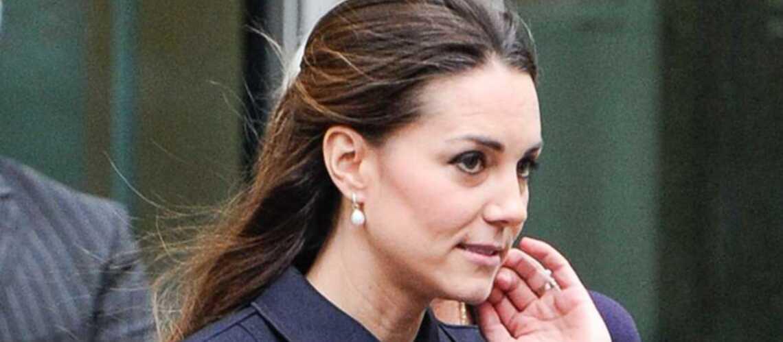 Kate Middleton: en plein baby blues?