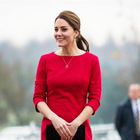 Les larmes de princesse Kate future maman