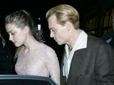 Johnny Depp et Amber Heard en virée romantique à Londres