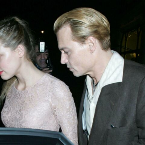 Photos- Johnny Depp et Amber Heard en virée romantique à Londres