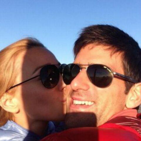 Photo- Novak Djokovic présente sa fiancée