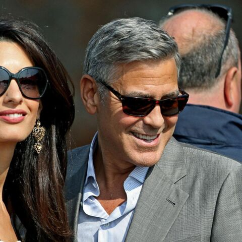 Photos – Amal Alamuddin et George Clooney, arrivés en Italie pour leur mariage