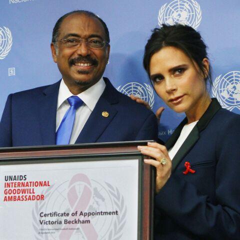 Victoria Beckham s'engage auprès de l'ONU contre le SIDA
