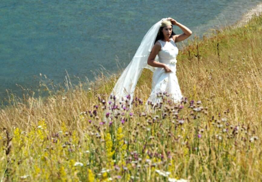 Monica Bellucci sur le tournage du film d'Emir Kusturica