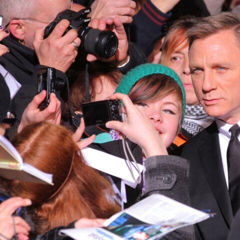 """Daniel Craig: """"Les photos ça m'énerve"""""""
