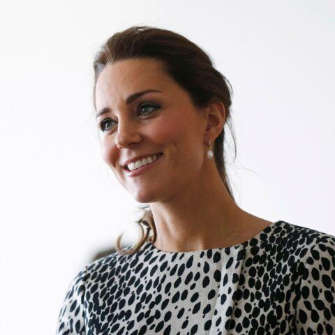 Princesse Kate, sereine avant l'accouchement