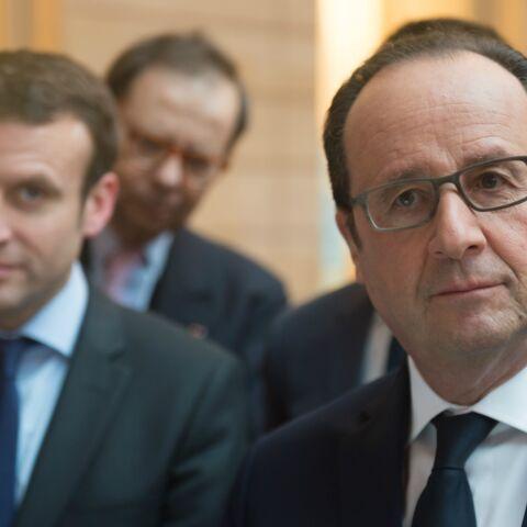 Pour François Hollande, Emmanuel Macron est le Coluche de 2017