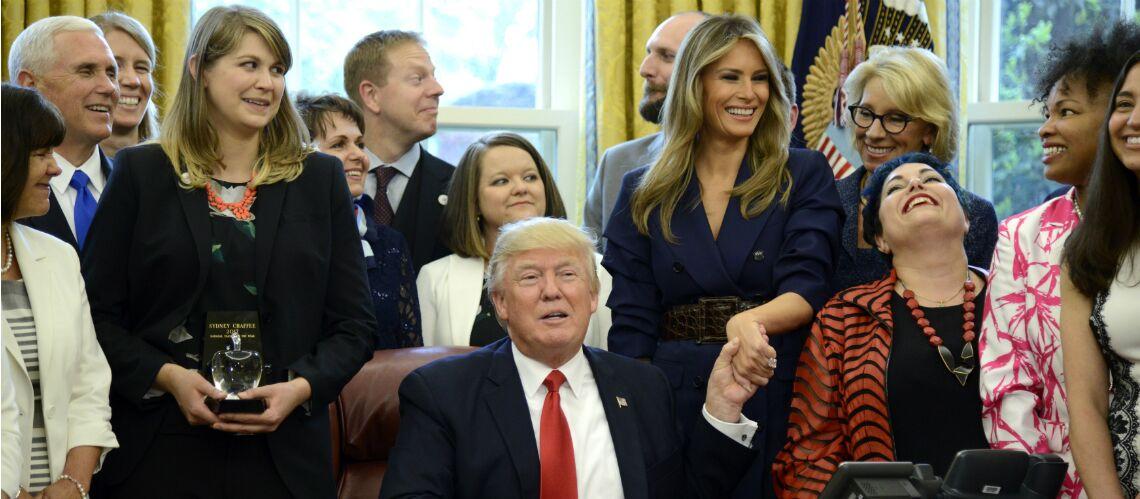 PHOTO – Donald et Melania Trump plus unis que jamais pour l'anniversaire de la First Lady?