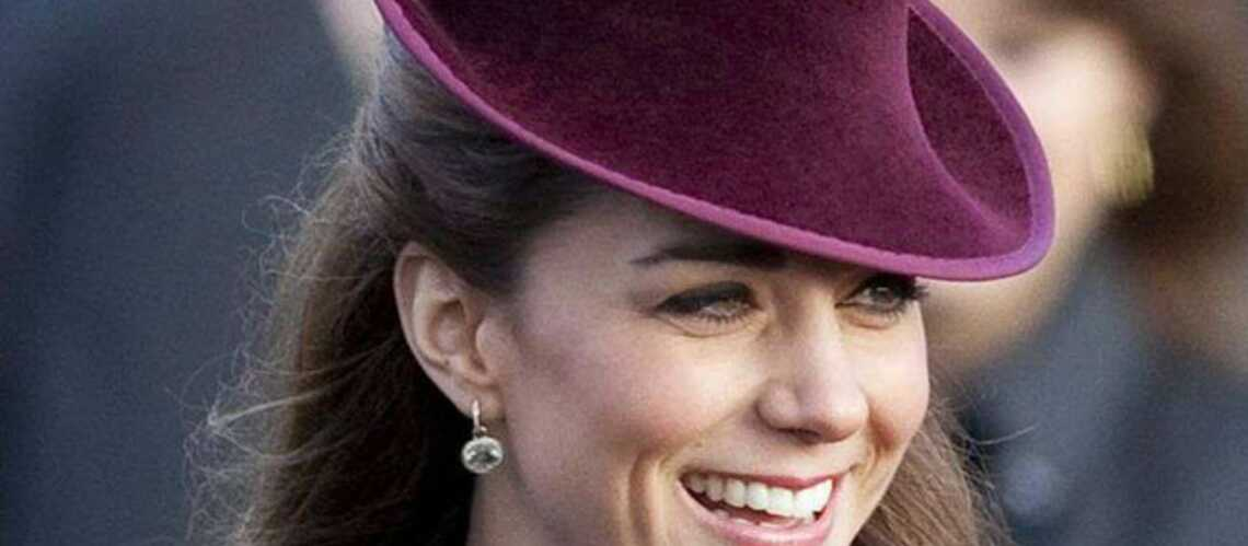 Kate Middleton, ses boucles d'oreille de Noël