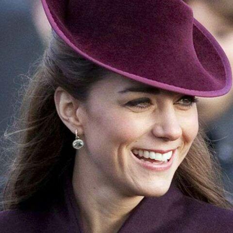 Kate Middleton, ses boucles d'oreille de Noël
