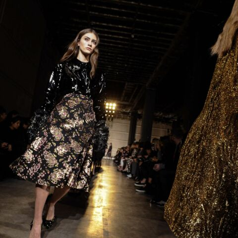 Fashion Week – Romantisme dark chez Rochas
