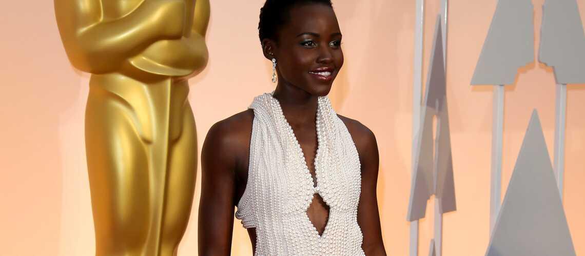 Lupita Nyong'o: les voleurs rendent sa robe en perles