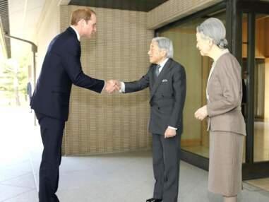 Le Prince William en voyage au Japon