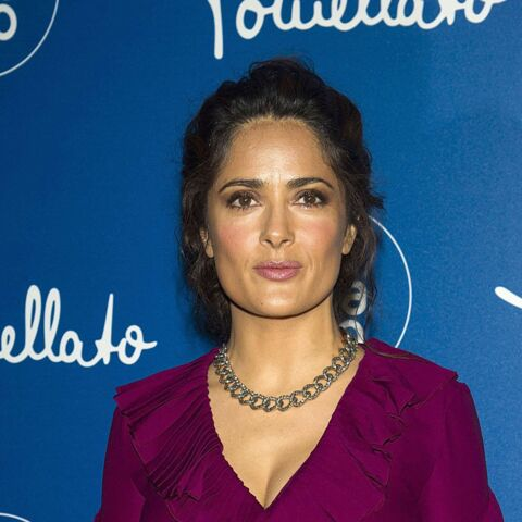 Salma Hayek, allure sophistiquée à la Fashion Week