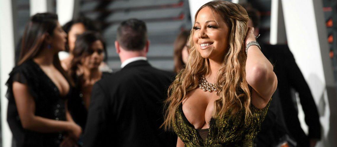 PHOTOS – Mariah Carey ultra-décolletée: cachez ces seins au bord de l'implosion!