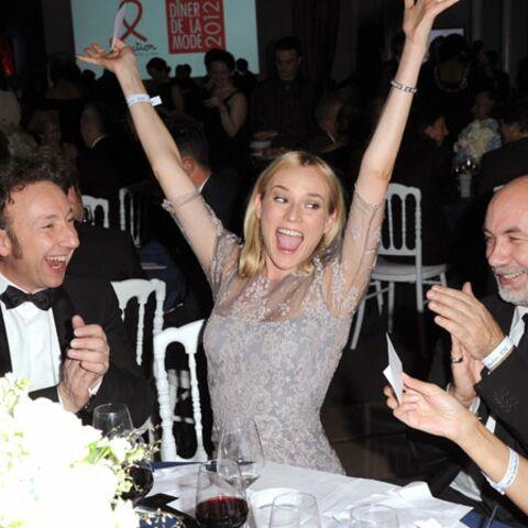 Photos- Diane Kruger, Juliette Binoche… Les plus  belles robes du Dîner de la mode