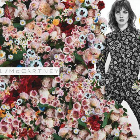 Natalia Vodianova, égérie fleurie de Stella McCartney