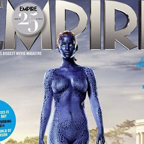 Photo- Jennifer Lawrence nue pour le nouveau X-Men
