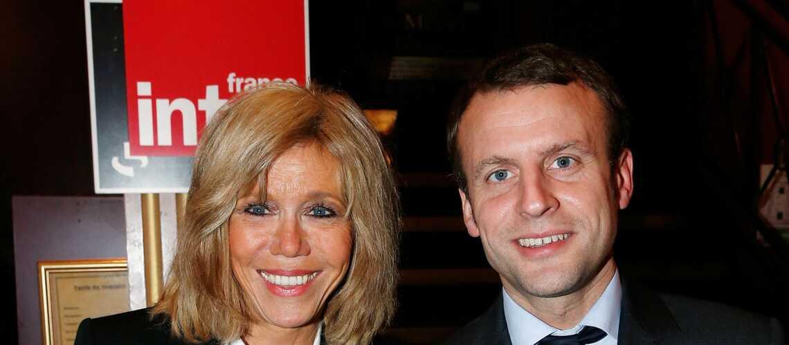Sortie en amoureux au théâtre pour Emmanuel Macron et Brigitte Trogneux