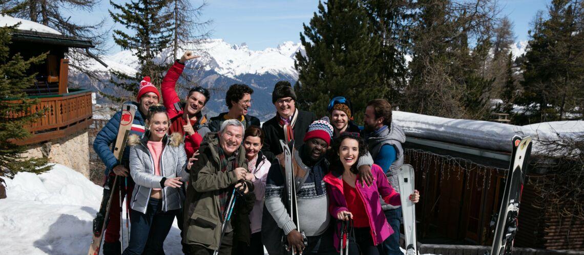 Amel Bent, Soprano, André Manoukian… et autres VIP dans «Nos chers voisins» au ski ce soir