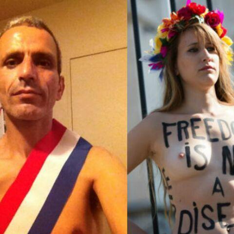 Malek Boutih tombe la chemise pour les FEMEN