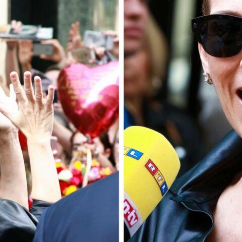 PHOTOS – Céline Dion: chignon bun et attitude rockn'roll dans les rues de Berlin