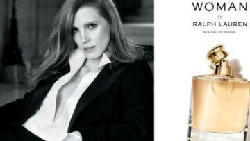 Jessica Chastain, canon dans la nouvelle campagne du parfum Woman de Ralph Lauren