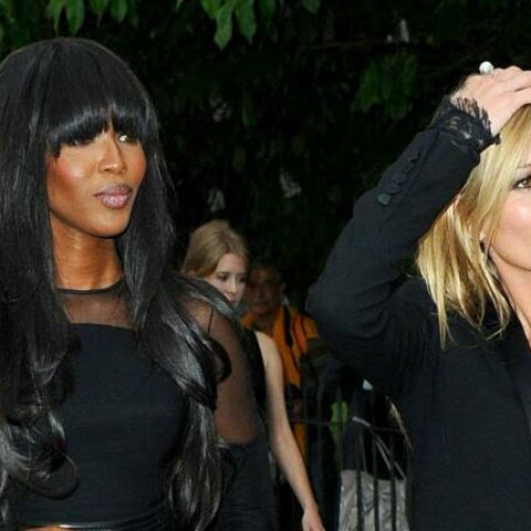 Kate Moss et Naomi Campbell, best friends forever