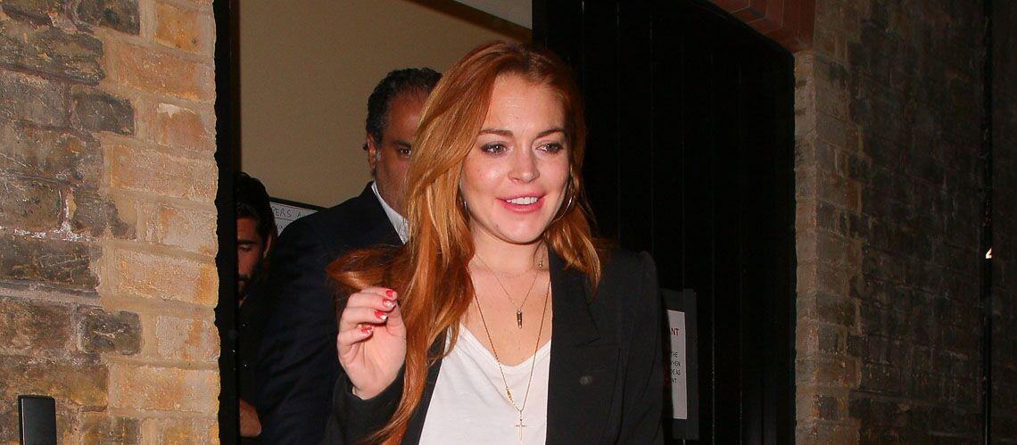 Lindsay Lohan sur les planches
