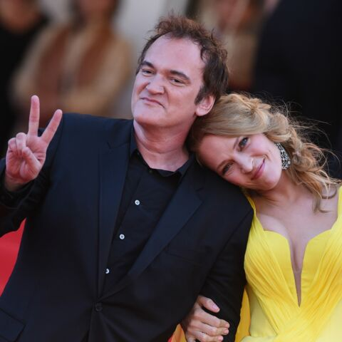 Quentin Tarantino et Uma Thurman: love fiction