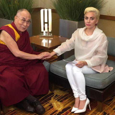 Lady Gaga face au Dalaï Lama: «La gentillesse, c'est gratuit»
