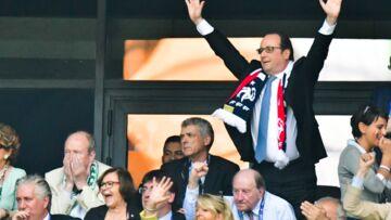 Euro 2016: Ludivine Sagna, François Hollande, les people en tribune