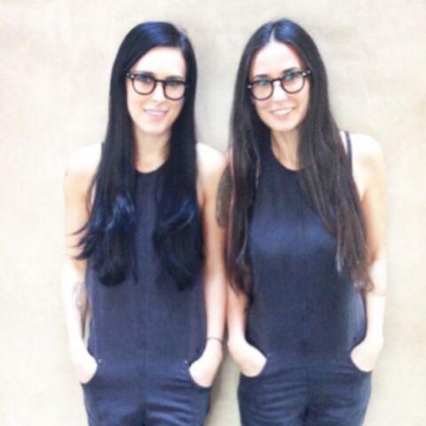 Rumer Willis et Demi Moore: mère et jumelle