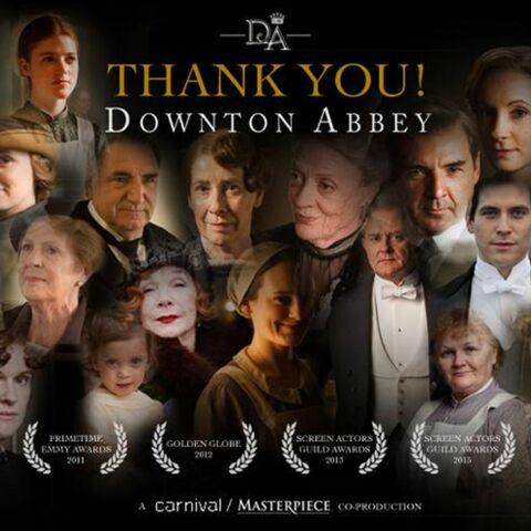 Downton Abbey, c'est (bientôt) fini