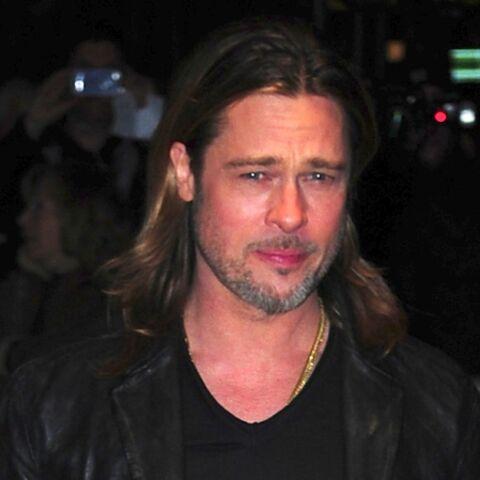 Brad Pitt, le coeur sur la main