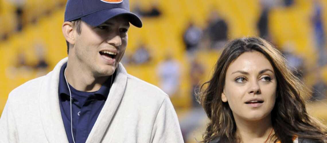 Mila Kunis et Ashton Kutcher, bientôt le bébé?