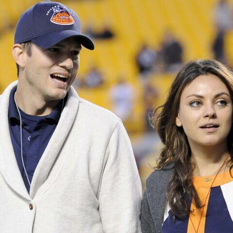 Mila Kunis et Ashton Kutcher: fiançailles, oui. Mariage, pas encore