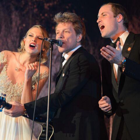Taylor Swift, le prince William et Bon Jovi: trio gagnant